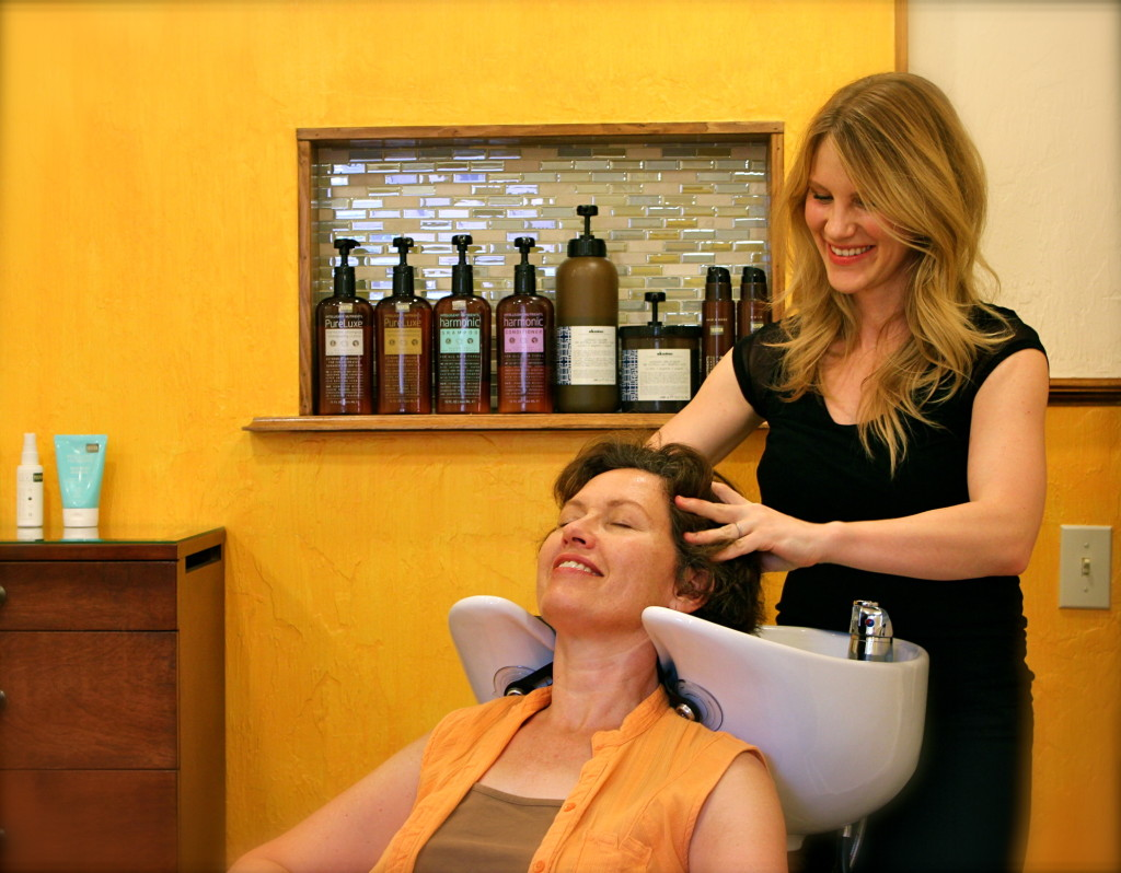 Sharlyn at the Chair Salon